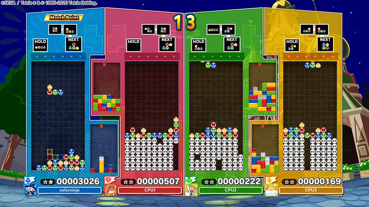 Puyo Puyo Tetris 2 customization