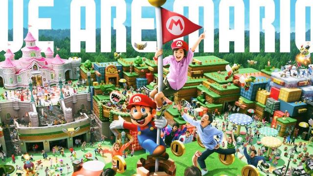 Super Nintendo World Opening Postponed