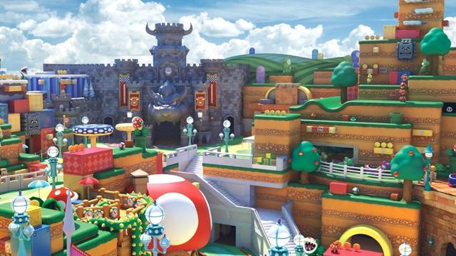 Super Nintendo World Virtual Tour