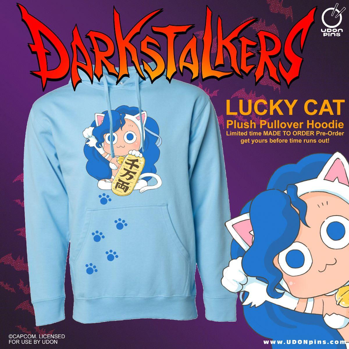 darkstalkers lucky felicia hoodie