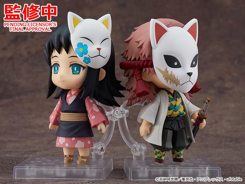 demon slayer figures sabito and makomo nendoroids