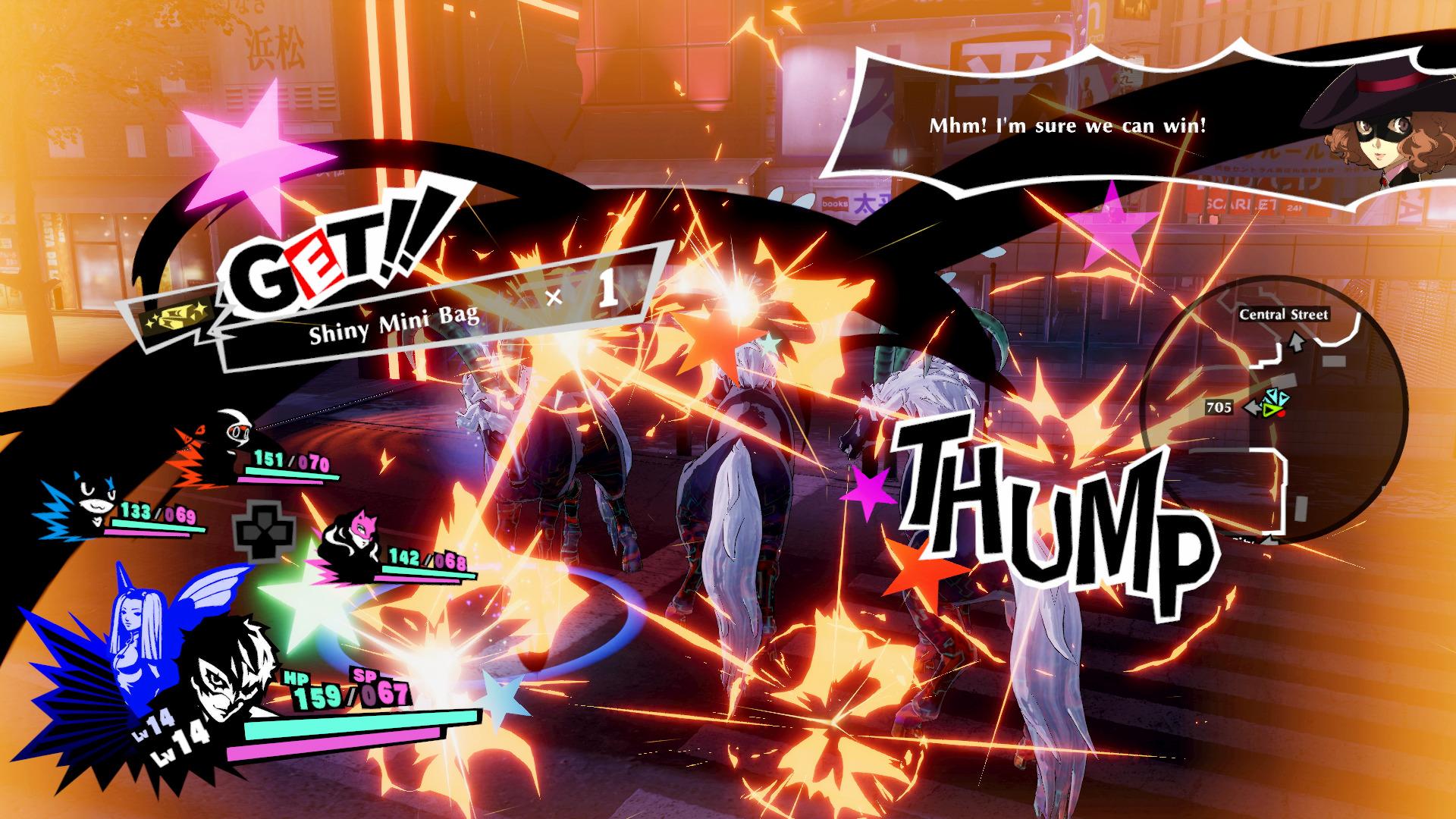 persona 5 strikers combat