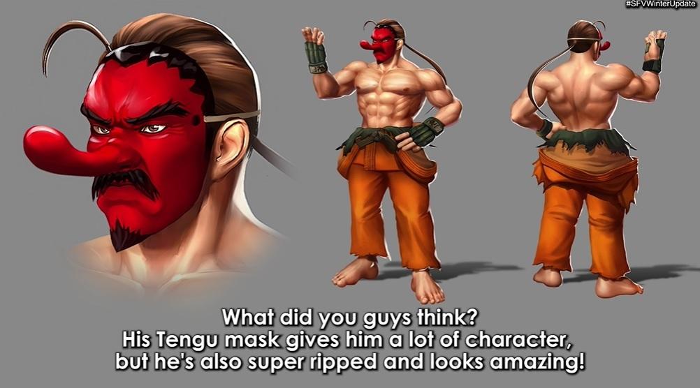 Tengu Dan Street Fighter V