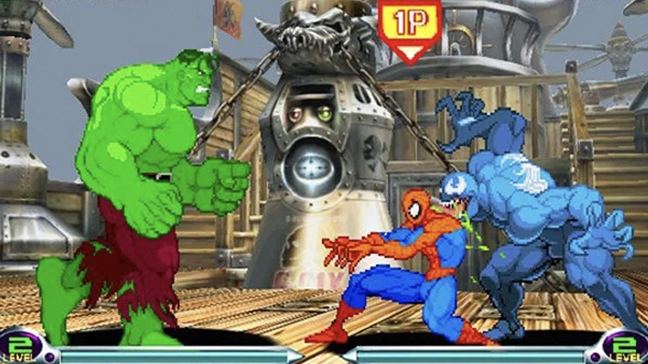 fighting games marvel vs capcom 2