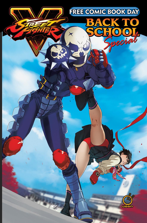 street fighter free comic book day akira kazama issue