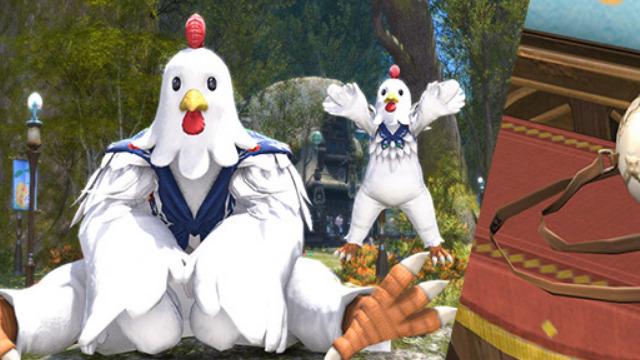 Final Fantasy XIV Hatching Tide Chicken Costume