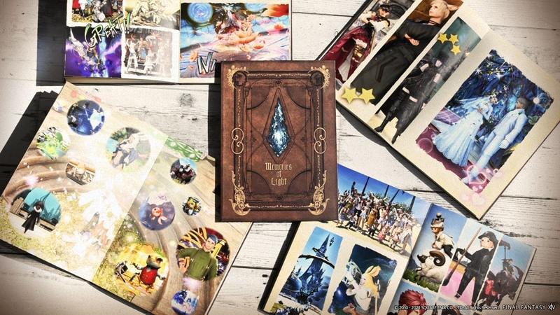 Final Fantasy XIV custom order photo book