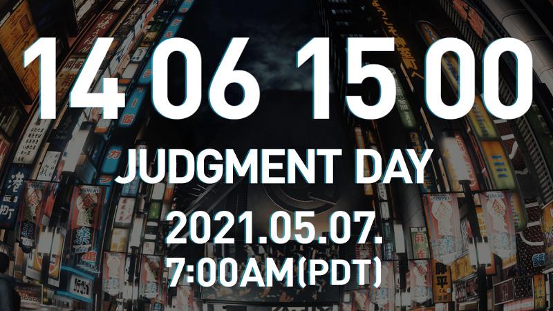 Judgment Day stream teaser from Ryu ga Gotoku Studio