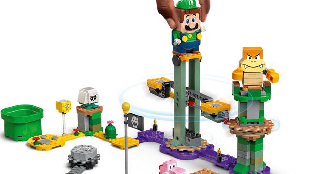 Lego Super Mario Luigi Starter Course
