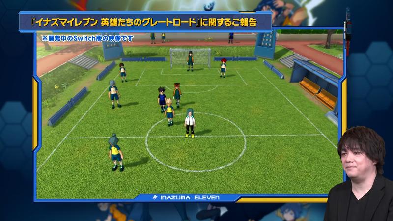 Level-5 Akihiro Hino on Inazuma Eleven Great Road of Heroes