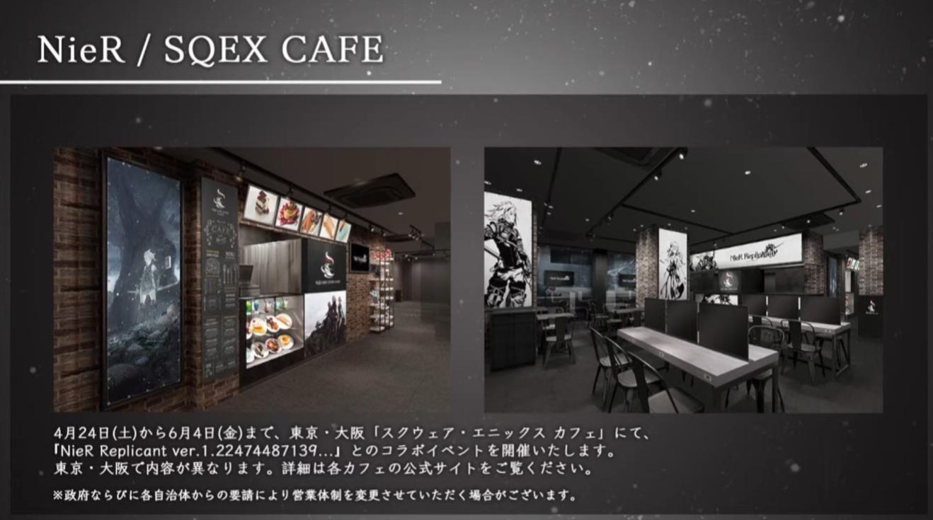 NieR Replicant Cafe