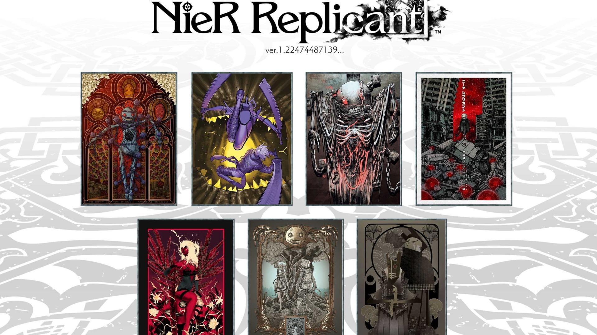 NieR 11th anniversary art nier replicant