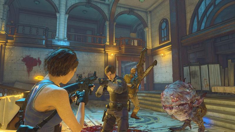 Resident Evil Re:Verse open beta test