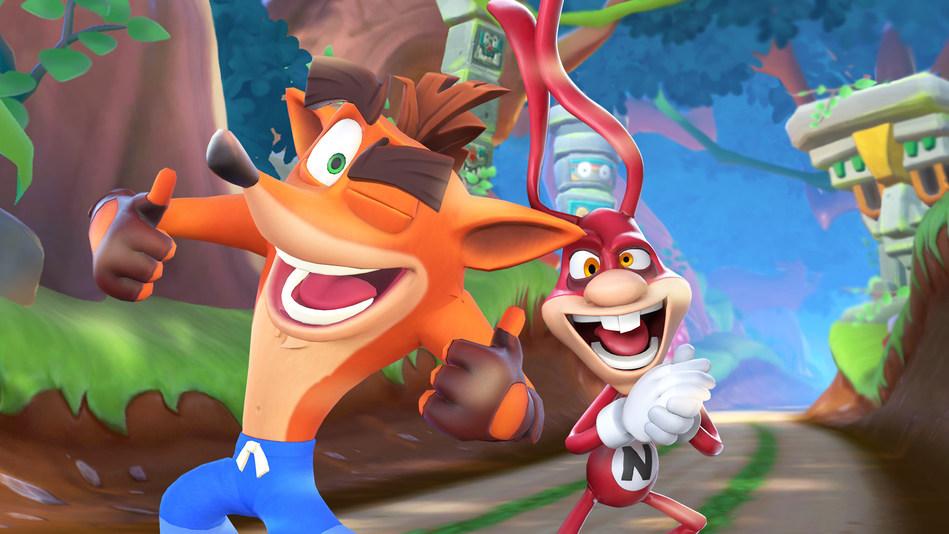 Crash Bandicoot: On the Run Noid