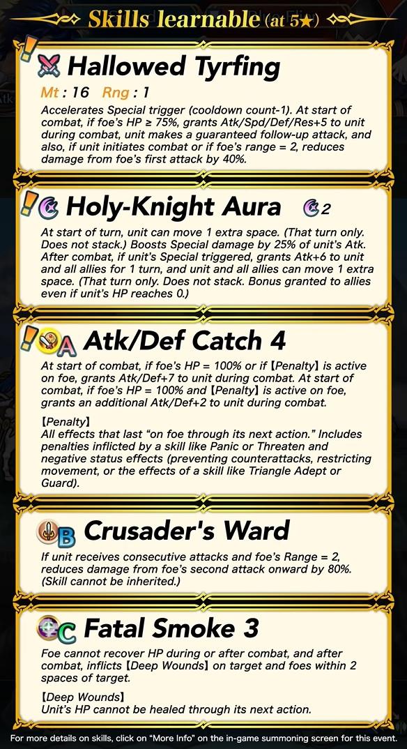 fire emblem heroes legendary sigurd