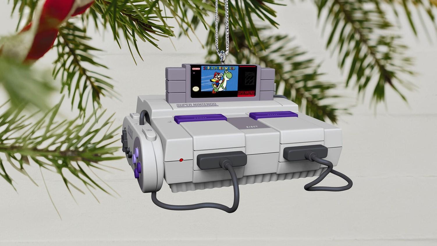 hallmark 2021 gaming ornament snes king mickey