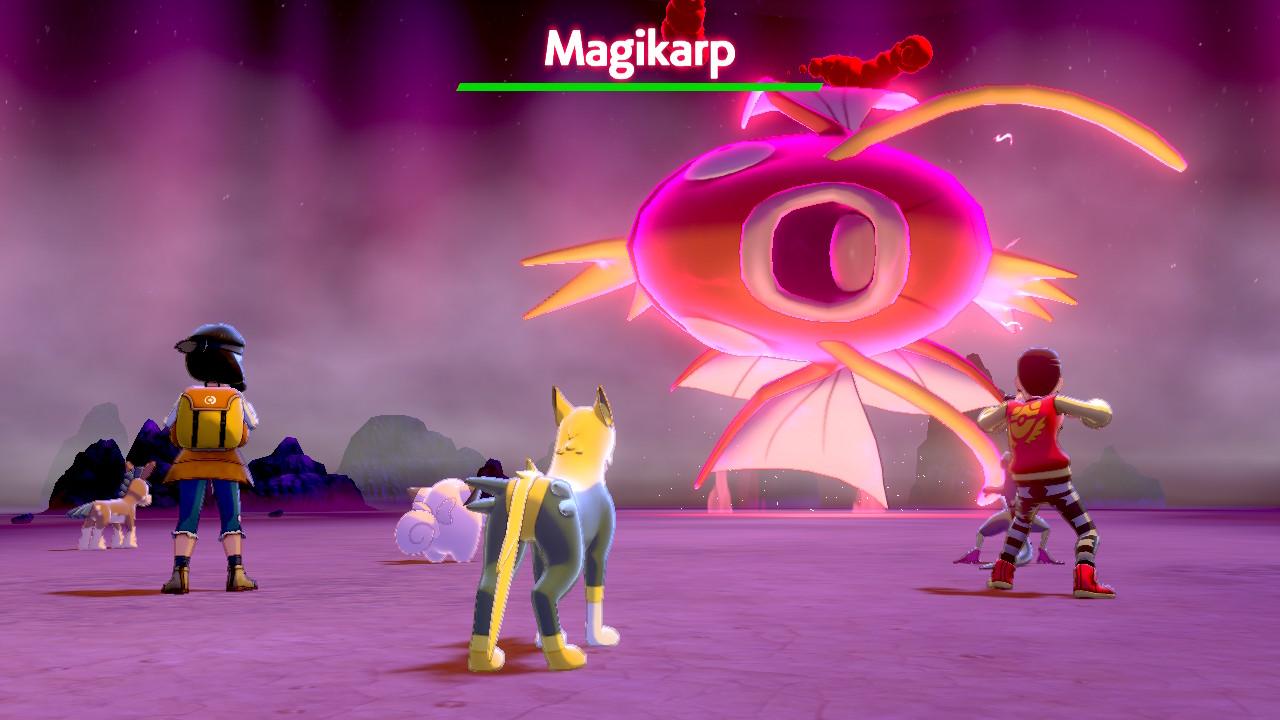 pokemon sword shield april fools' magikarp