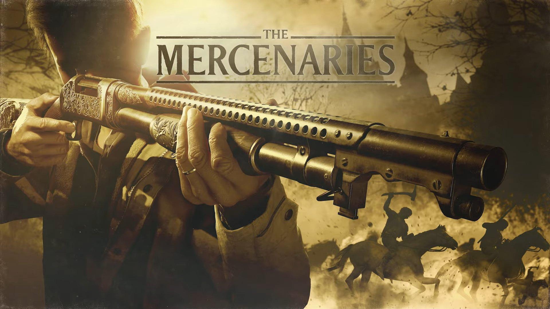 resident evil village mercenaries mode