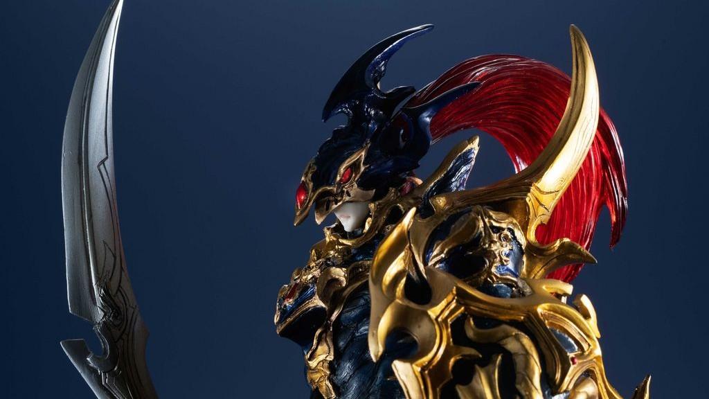 yu gi oh artworks monsters figure black gloss soldier