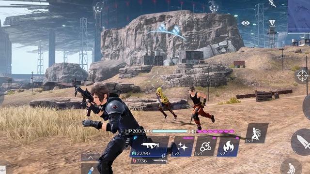 Final Fantasy VII The First Soldier Beta