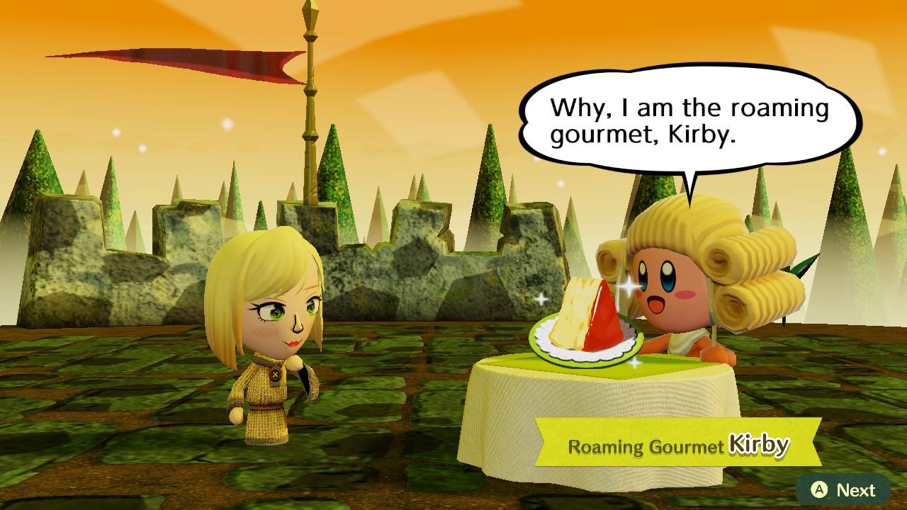 kirby roaming gourmet