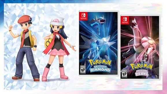 pokemon brilliant diamond shining pearl release date