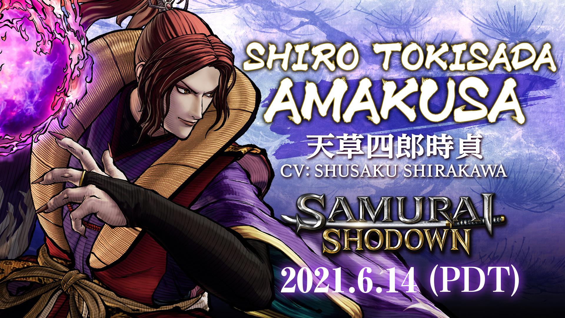 Samurai shodown shiro tokisada amakusa 2