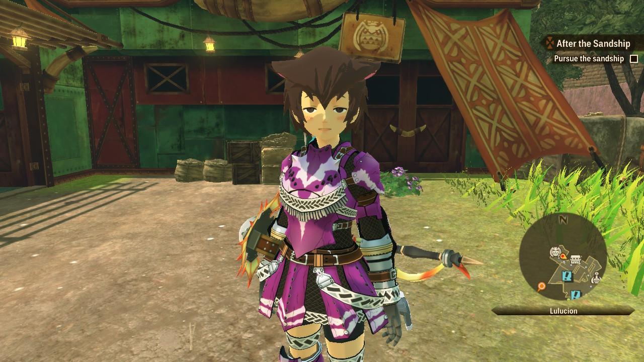 Monster Hunter Stories 2 armor