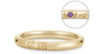Monster Hunter wedding rings with Mizutsun and Magnamalo designs