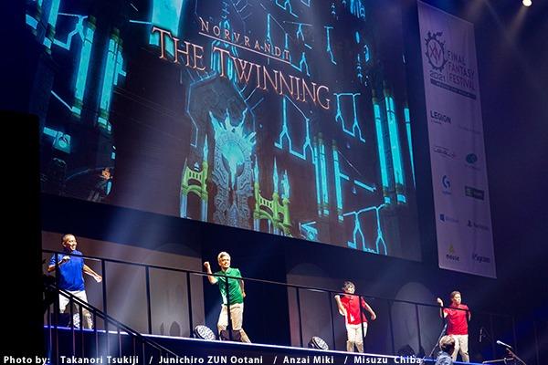 FFXIV Digital Fan Festival Twinning Dance meme