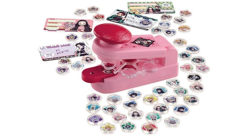 Demon Slayer Ohajiki Seal sticker maker for kids