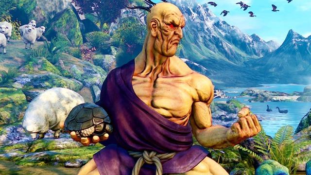 Street Fighter V Oro Gameplay