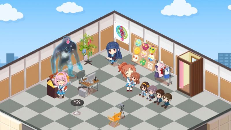 The Idolmaster Cinderella Girls Starlight Stage - Haruhi content