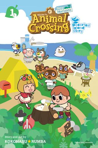 animal crossing new horizons manga deserted island diary