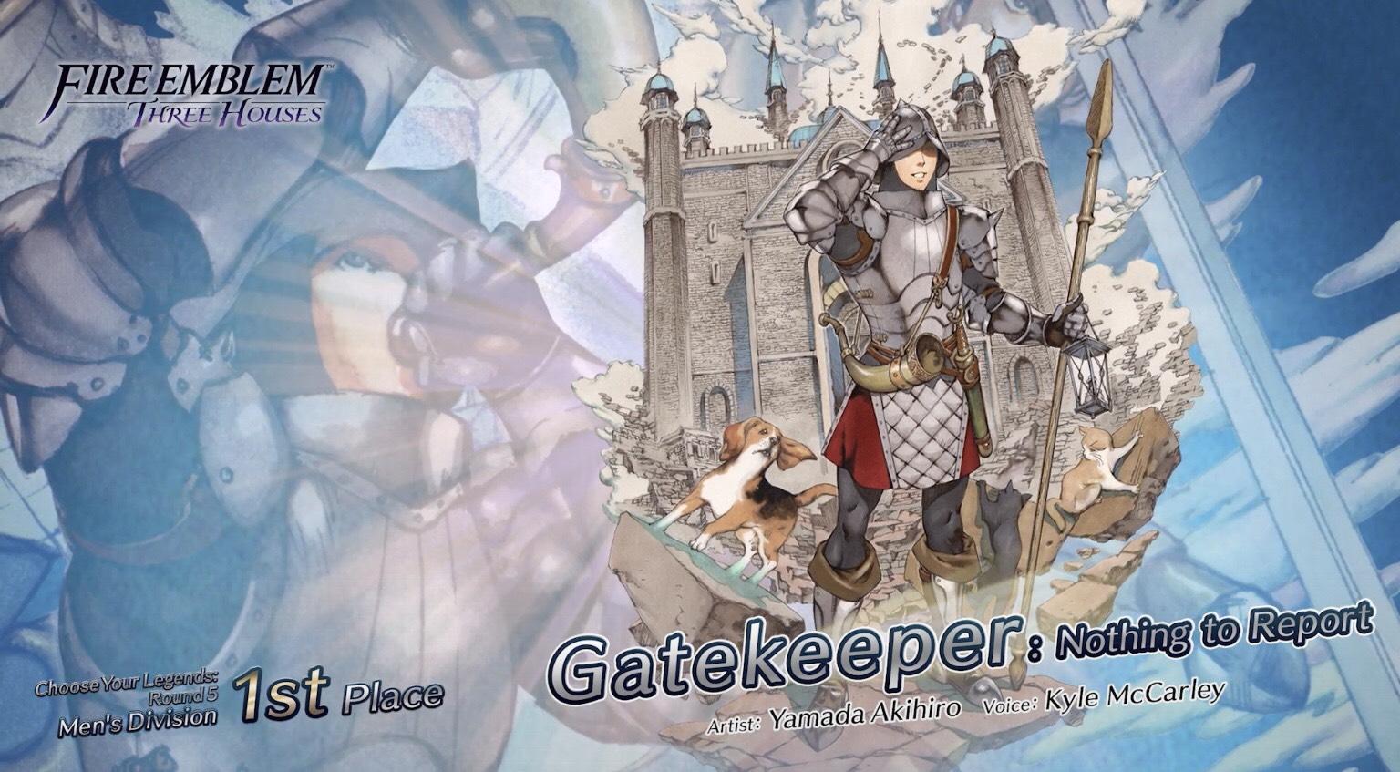 choose your legends 5 gatekeeper