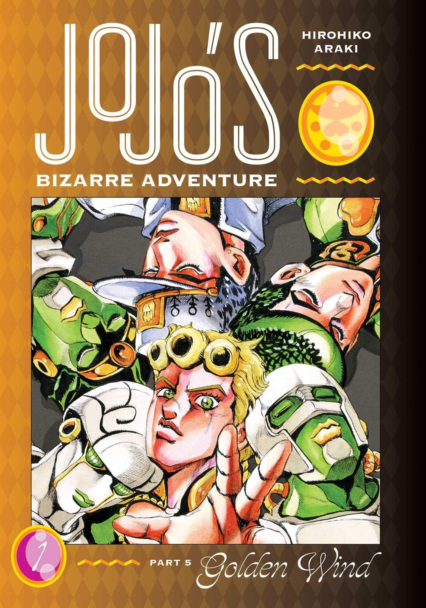 jojo's bizarre adventure golden wind manga