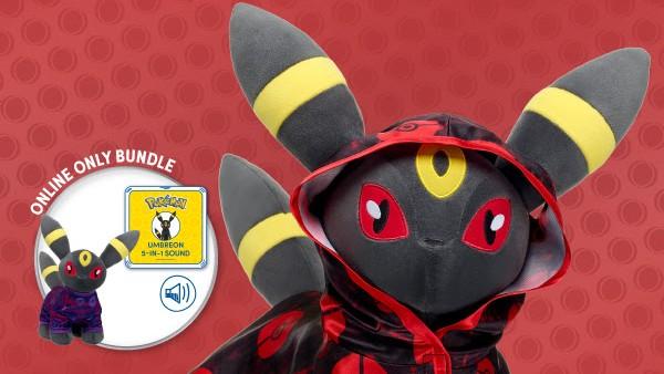Build-a-Bear Umbreon Pokemon plush