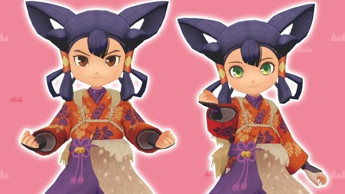 story of seasons sakuna costume