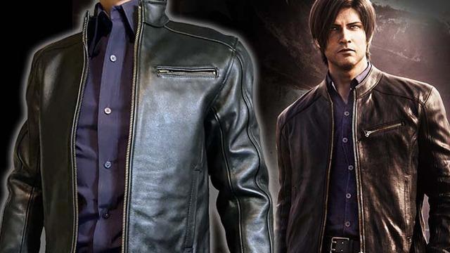 Resident Evil Infinite Darkness Leon Jacket