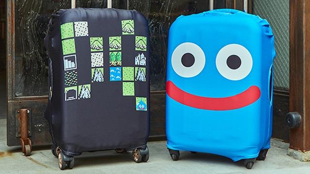 Dragon Quest Travel suitcases dragon quest slimes